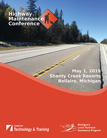 Highway Maintenance Conference flyer