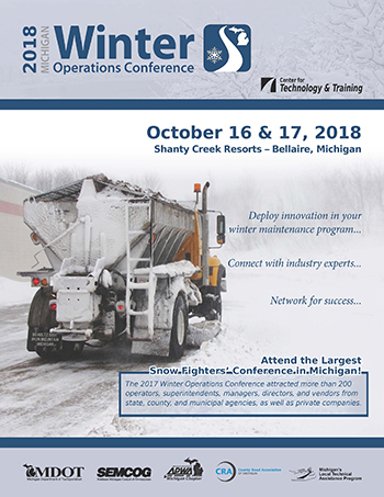 Winter Operations Conference flyer