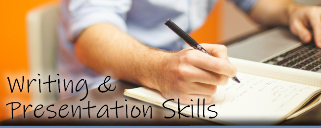 Writing and Presentation Skills Workshop